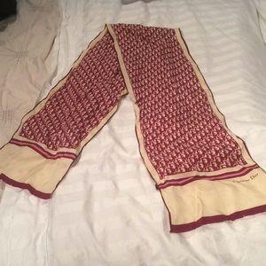 Vintage Dior scarf